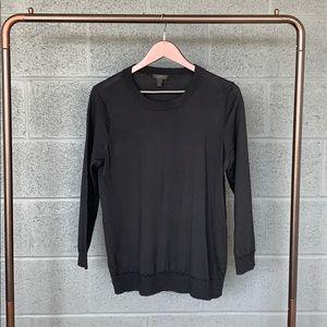 J. Crew Black Merino Tippi Sweater